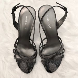 Nine West Size 8 Heels